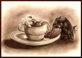Light Coffee and Cookie Fury