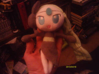 Meloetta Plush by Sliverbolt