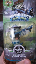 Skylander Rattleshake Holiday prize by Sliverbolt