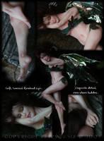 OOAK Woodland Slumber Faery by fairytasia