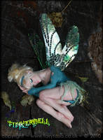 OOAK Sleepy Tinkerbell Fairy 1 by fairytasia