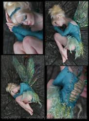 OOAK Sleepy Tinkerbell Fairy 3