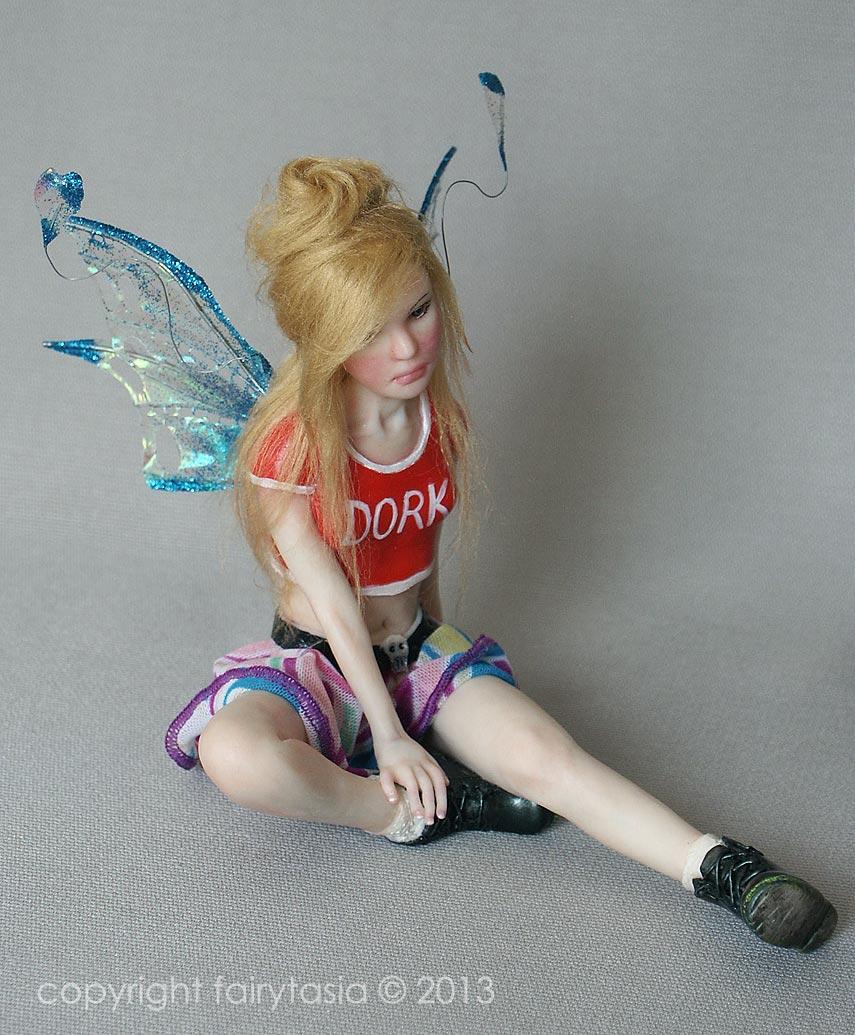 Fairytasia OOAK Teen Fairy Jamiee by fairytasia