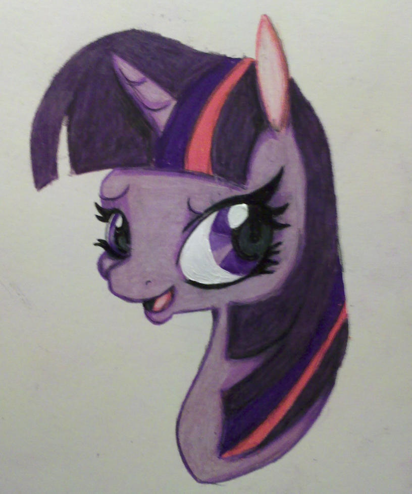 Twilight Sparkle by TinyUnicornFarm
