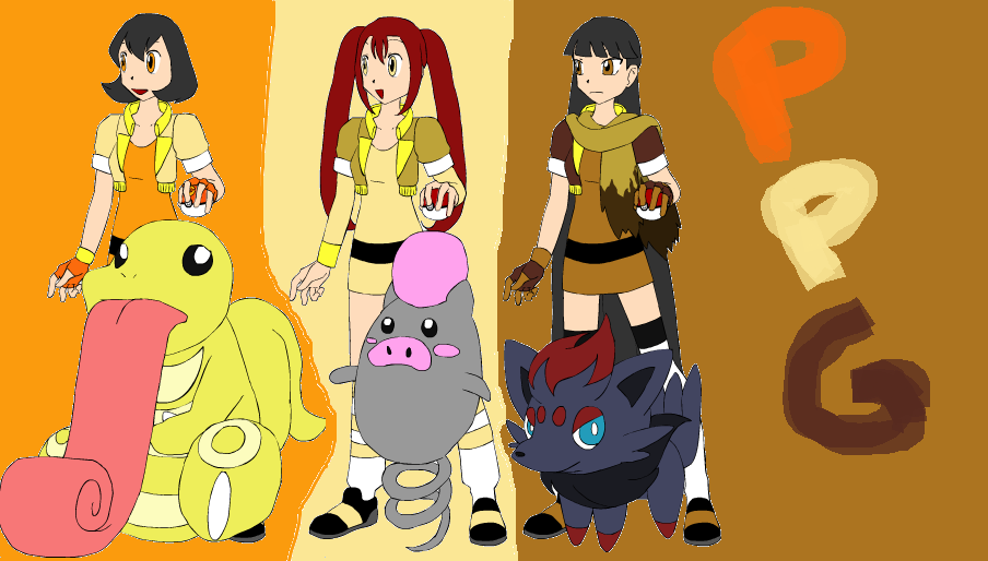 My pokemon powerpuff girls style 2 by popysfilms