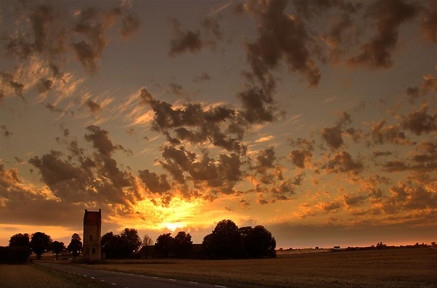 harvest sundown