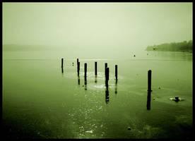 Stillness of sea by ssilence