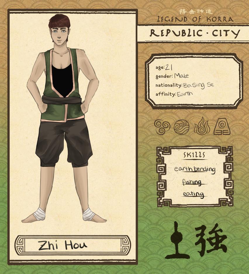Republic City App: Zhi Hou by StaticElephant