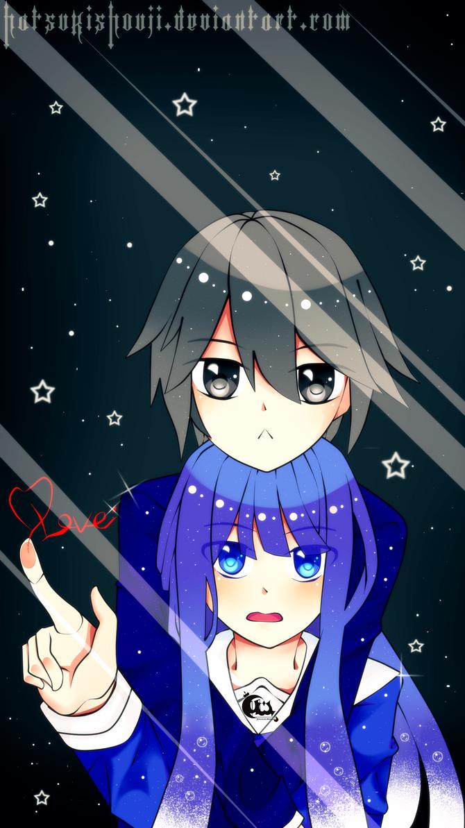 Yamiya X Prome Lockscreen Wallpaper By HatsukiShouji