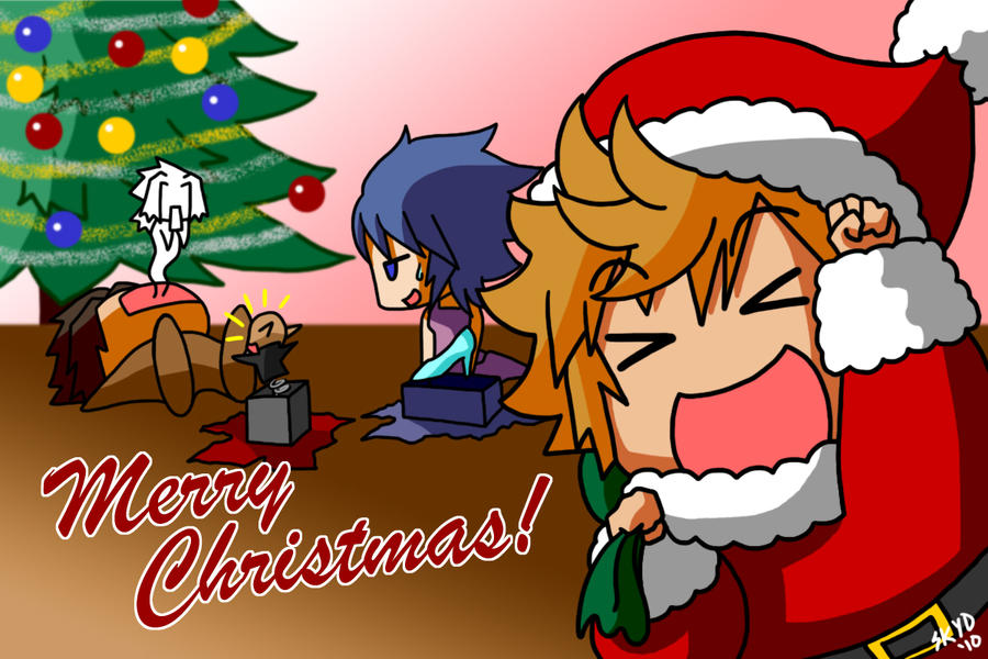 Merry Christmas 2010 by KimYoshiko on DeviantArt