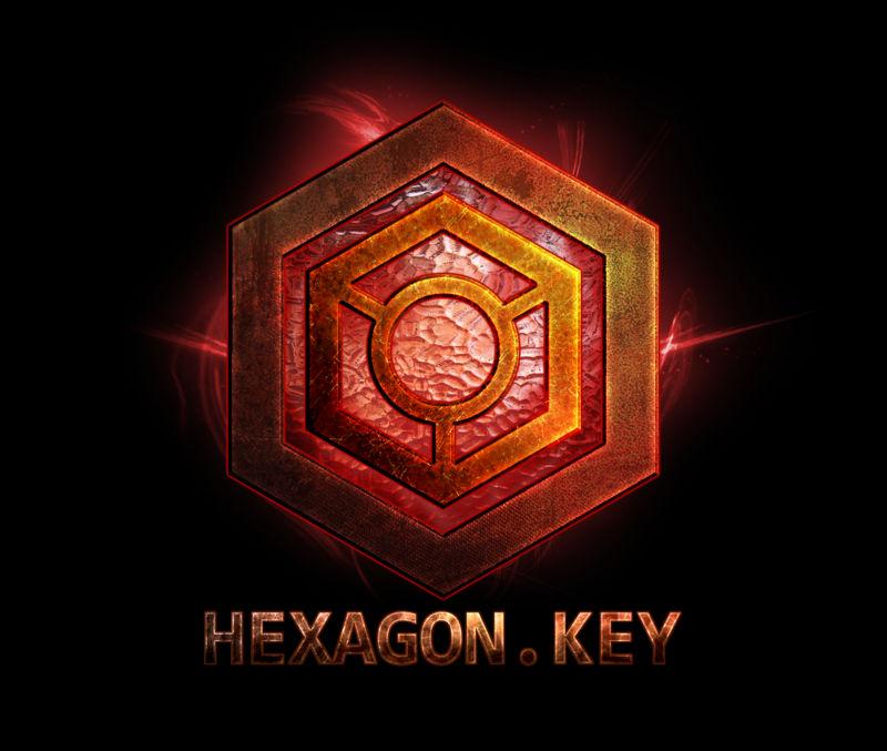 Hexagon Key - Logo