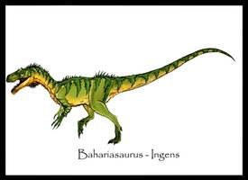 Bahariasaurus Ingens by Danillo-Toga