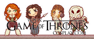 Chibi Freefolk by CalamityJade