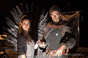 Robb and Talisa by CalamityJade