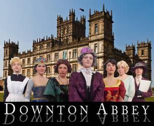 Downton Abbey Cosplay by CalamityJade