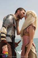 I'm yours, Khaleesi by CalamityJade