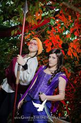 Obara and Nymeria by CalamityJade