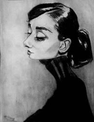 Audrey Hepburn by sweden90