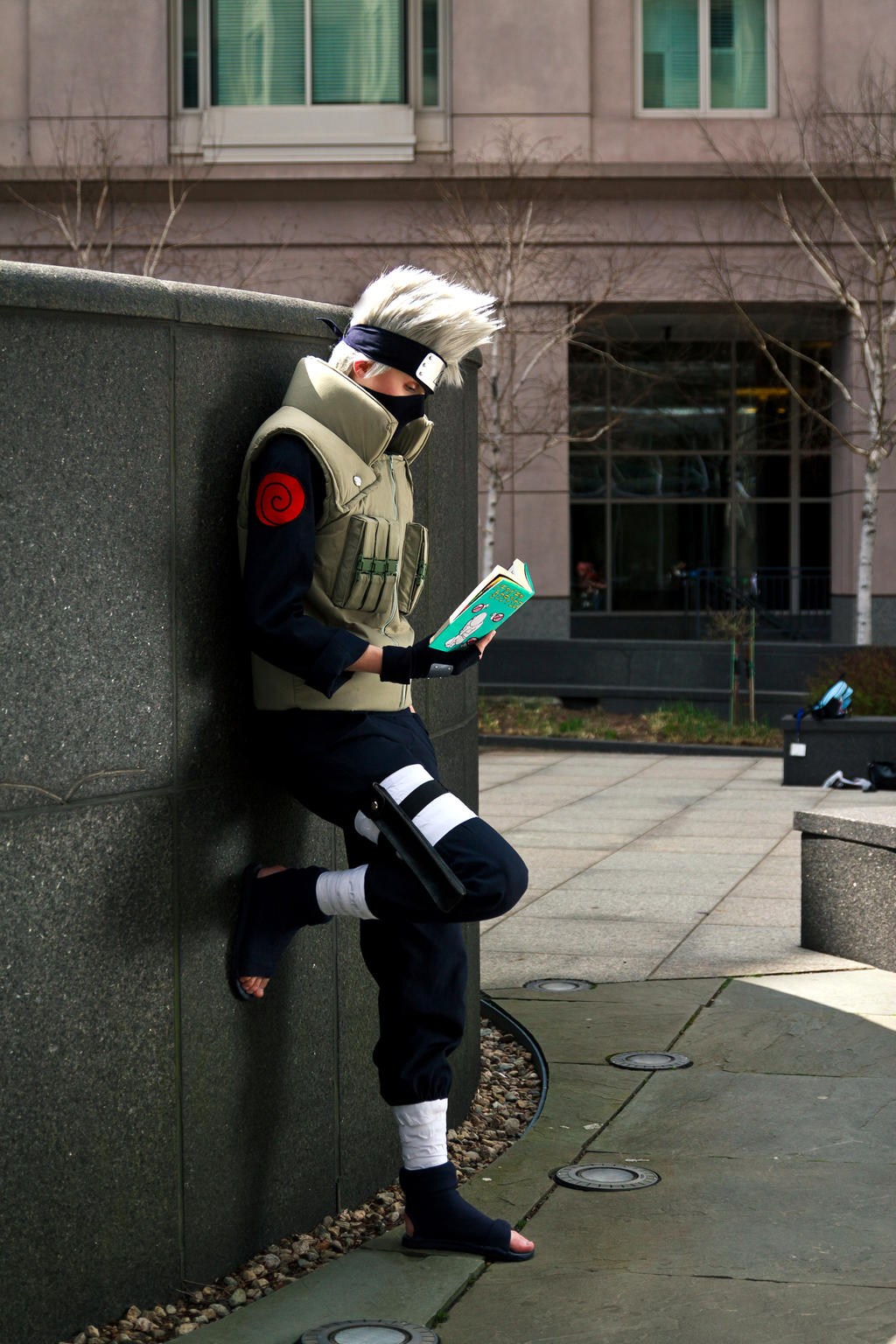 Kakashi Hatake by Suki-Cosplay
