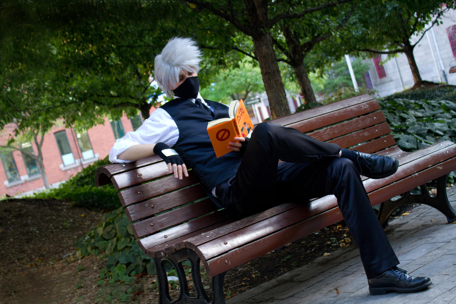Just chillin' by Suki-Cosplay