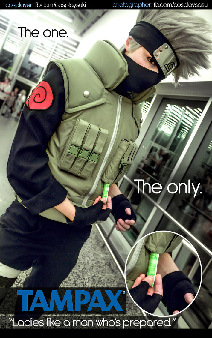 Ninja ads by Suki-Cosplay