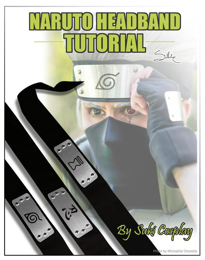 Naruto headband tutorial by Suki-Cosplay