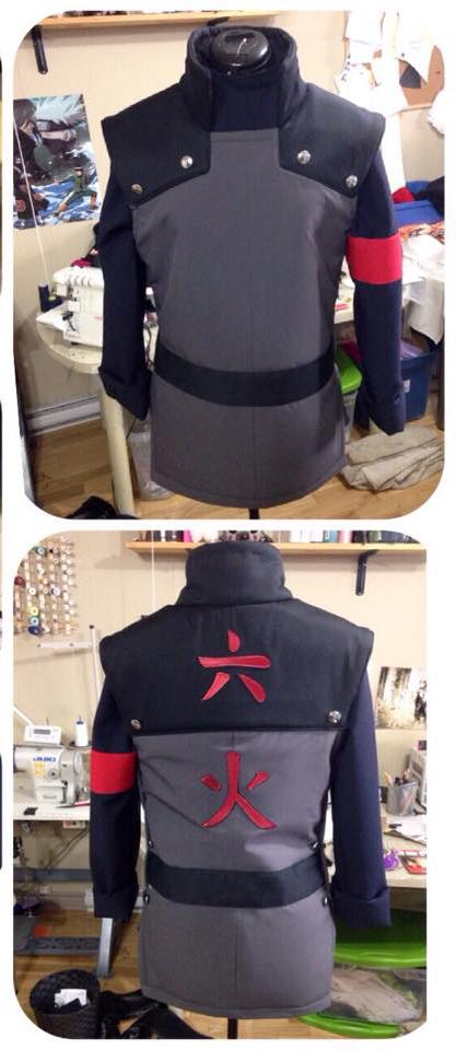 Hokage vest by Suki-Cosplay