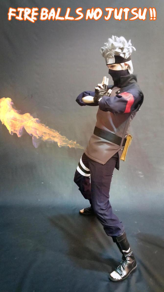 Fire BALLS no jutsu ! by Suki-Cosplay