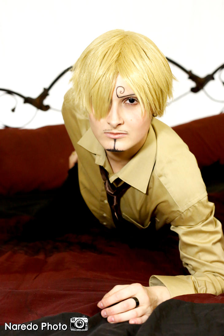 Sanji in bed by Suki-Cosplay