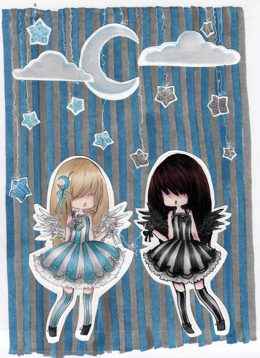 Paper Stars by Paingu