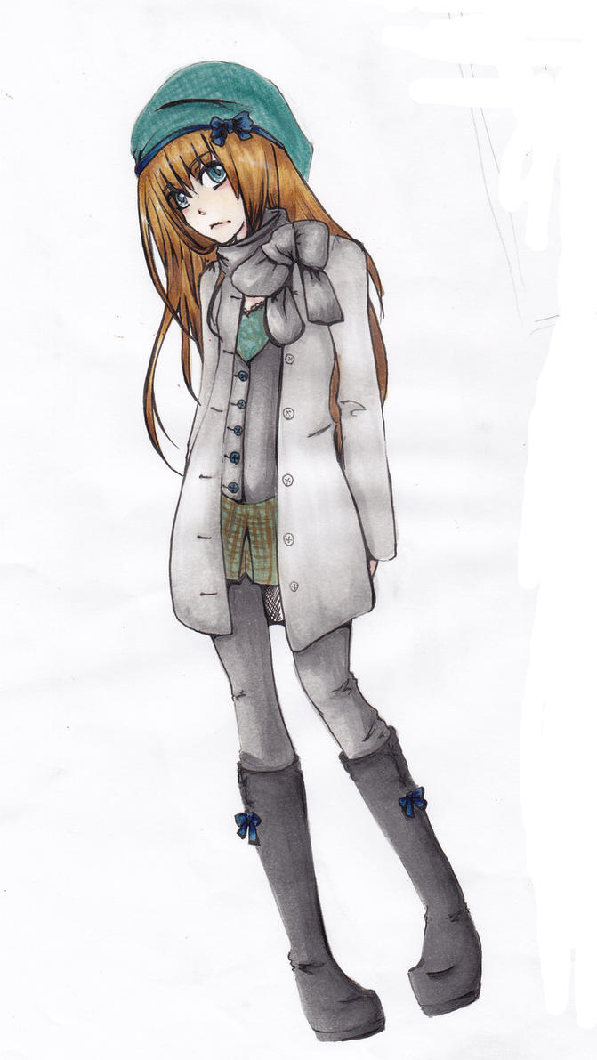 Winter clothes by Paingu on DeviantArt