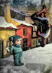 Fan art pro Patu a jeho komiks O snehu by MarekDAZPostulka