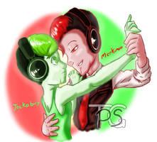 mark and jack's dance by HiImThatGuy