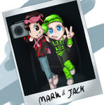 Mark and jack 80s pic