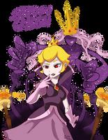 Shadow Queen Paper Mario Ttyd by HiImThatGuy