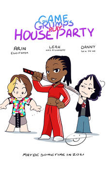 Game Grumps play House Party
