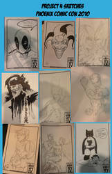 Phoenix Con 2010 Sketches 2 by project4studios
