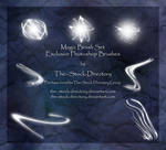 Magic Brush Set by The--Stock-Directory
