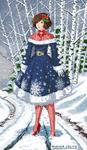 Winter Lolita by AlbinoGrimby