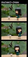 Nendoroid Comic - Sadako-chan by AlbinoGrimby