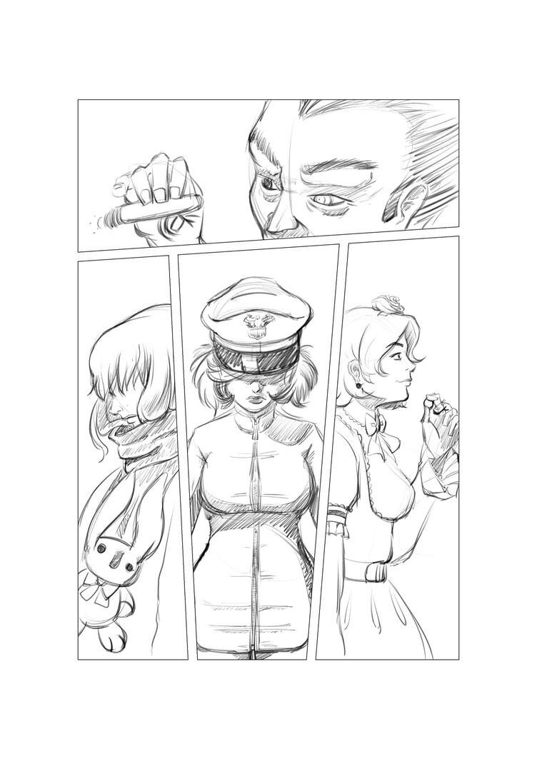 Sketches by AlbinoGrimby