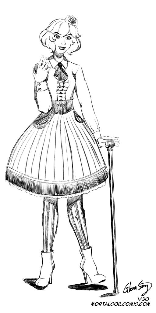 Lolita #1: Dear Kamiko by AlbinoGrimby