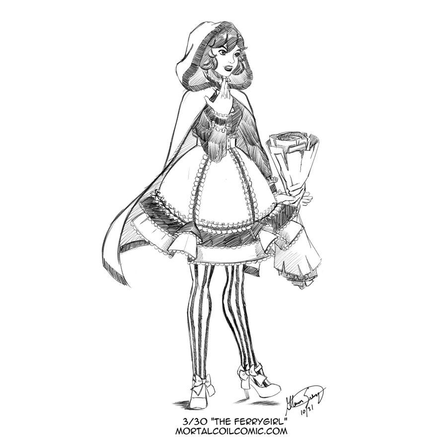 Lolita #3: The Ferrygirl by AlbinoGrimby
