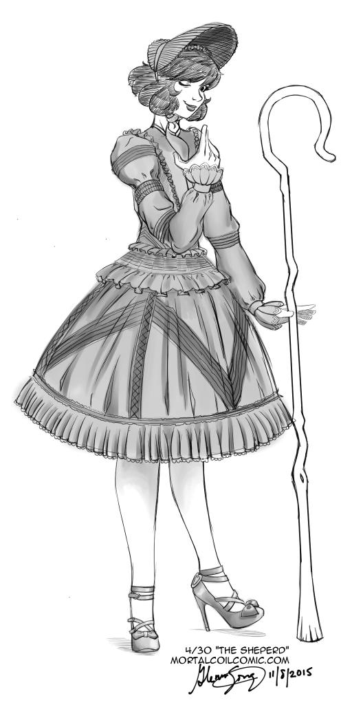 Lolita #4: The Shepherd by AlbinoGrimby