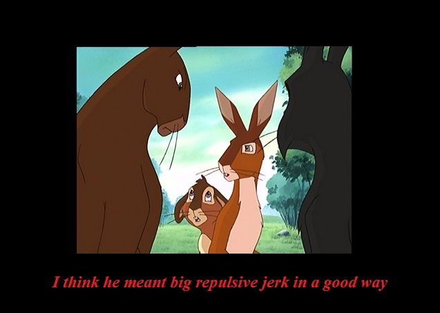 Funny Watership Down 4 by CrispinVCampion