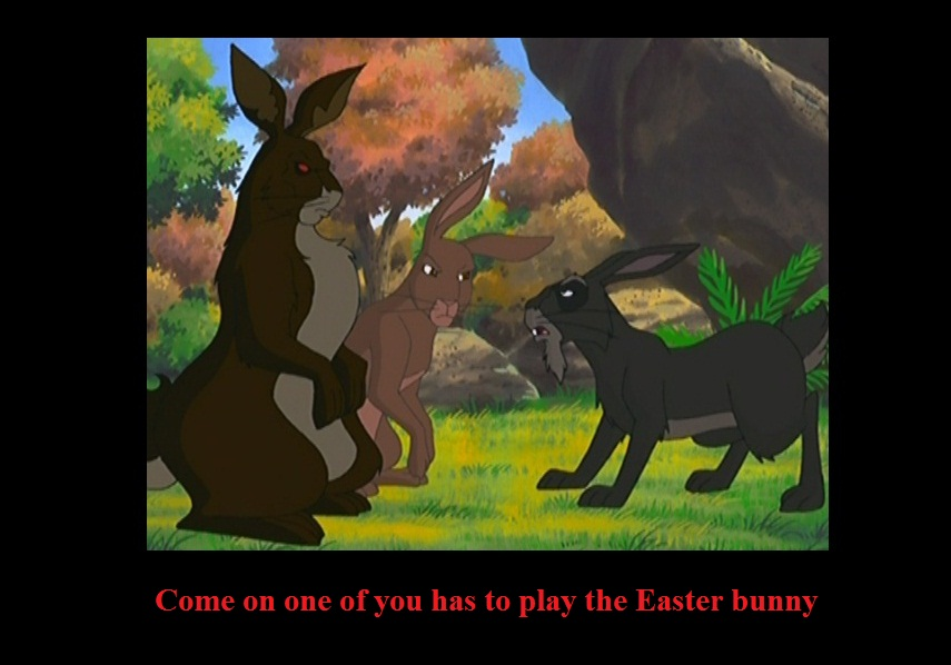 Watership Down Easter by CrispinVCampion