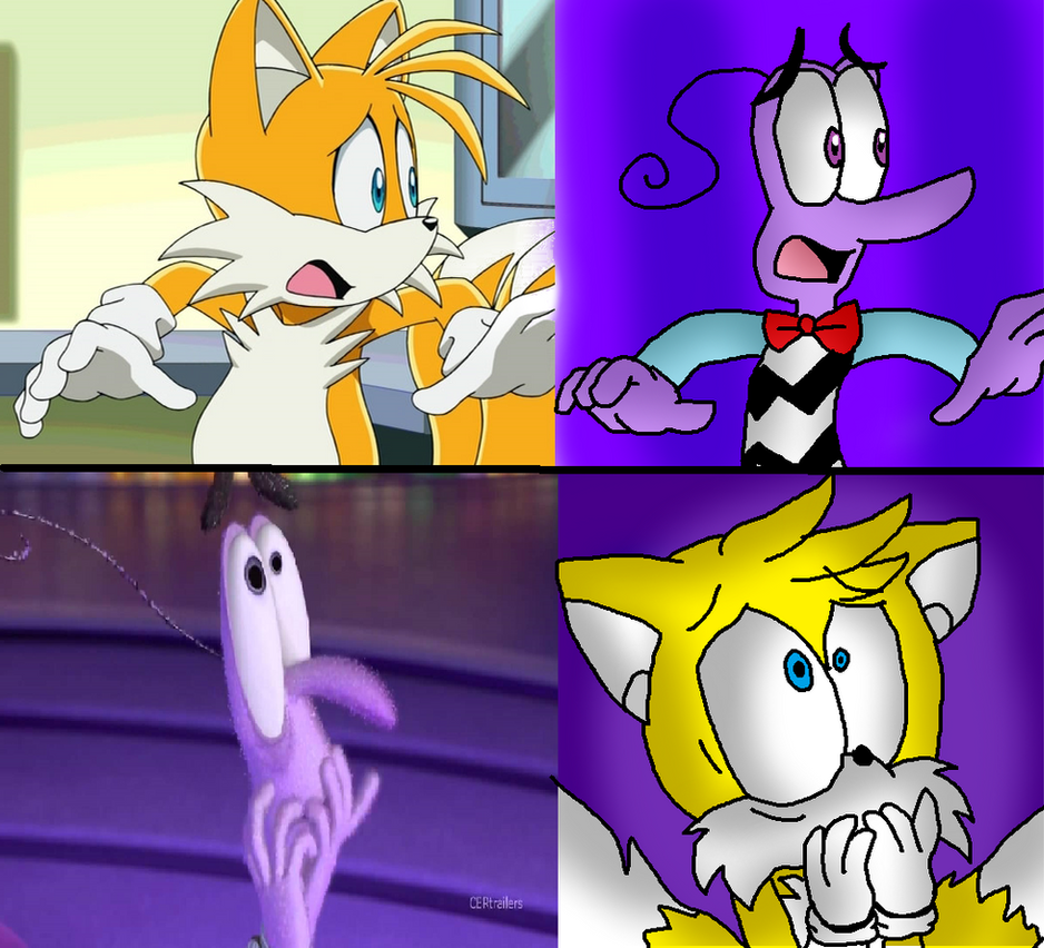 Fotos Do Sonic X for sonic x inside out: fear and tailssonicfazbear15 on deviantart