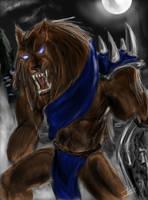 Werewolf Warrior by R-Daza