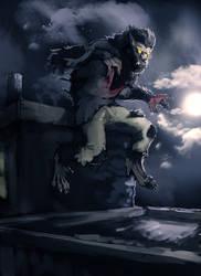 Wolfman redux by R-Daza