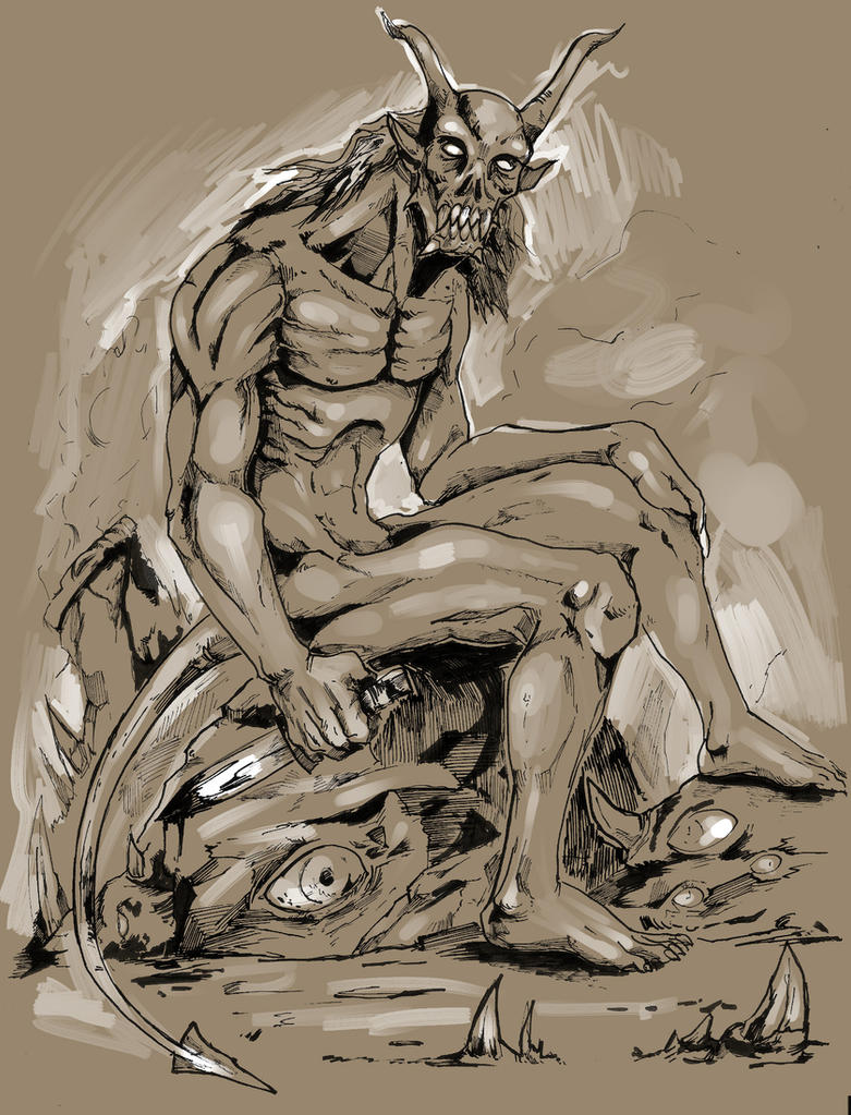 Demon by Bittergeuse